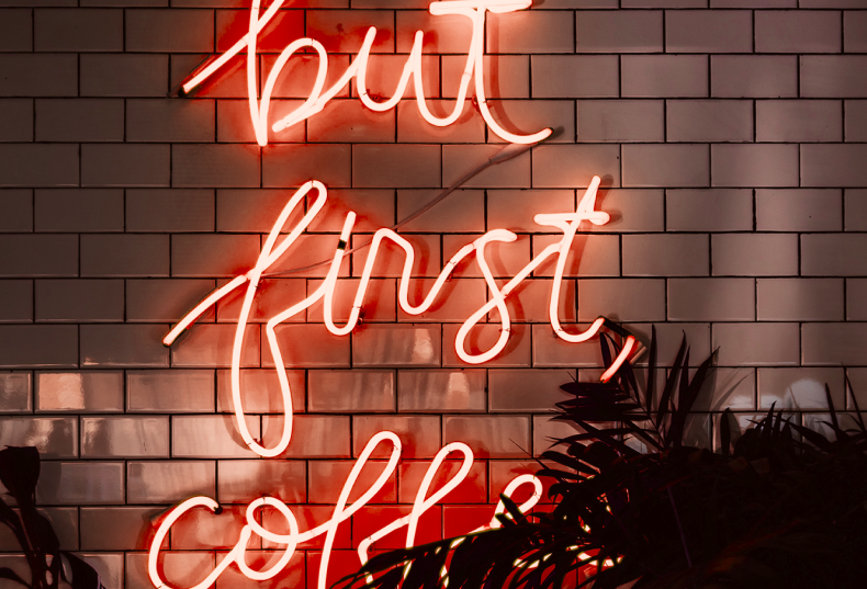Banner But First Coffee